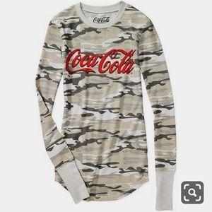 Coca-Cola Camo Long Sleeve Shirt